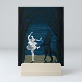 Moon Dance Mini Art Print