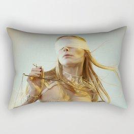 Lady Justice Rectangular Pillow