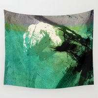 hulk Wall Tapestries featuring Hulk by Fernando Vieira