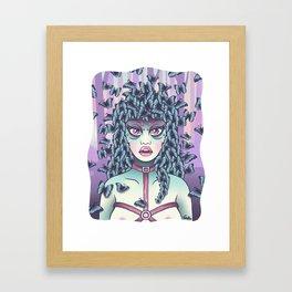 Itzpapalotl - Lady Butterfly Framed Art Print