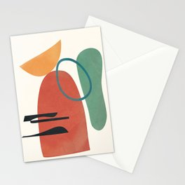 Minimal Abstract Shapes No.41 Stationery Cards