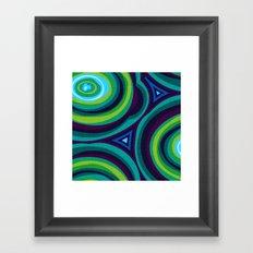 Malachite Framed Art Print