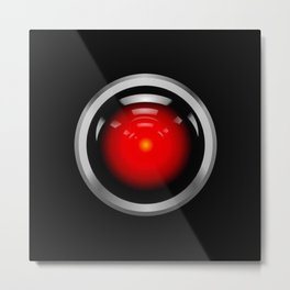 HAL 9000 from 2001: A Space Odyssey Metal Print