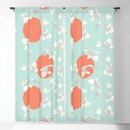 Koi fish pattern 005 Blackout Curtain