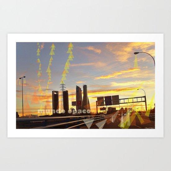communications and light Art Print