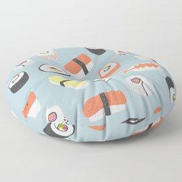Sushi Roll Maki Nigiri Japanese Food Art Floor Pillow