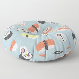 Sushi Roll Maki Nigiri Japanese Food Art Floor Pillow