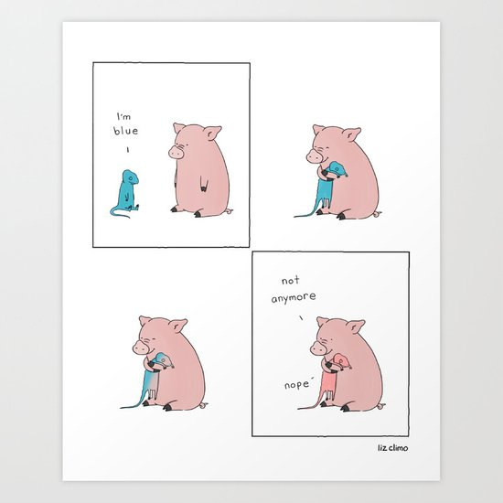 Blue by lizclimo