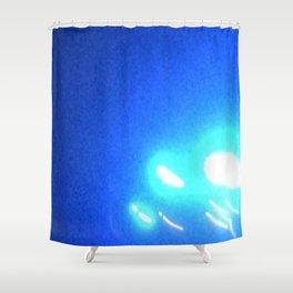 Abstracte Light Art in the Dark Version 40 Shower Curtain