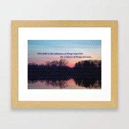 Chasing the Sun at Sunset  Framed Art Print