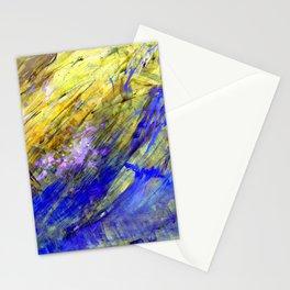Nature aqua Stationery Cards