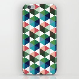 cubic print case for iphone iPhone Skin