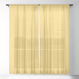 Aspen Gold - Fashion Color Trend Spring/Summer 2019 Sheer Curtain