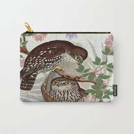 Nesting Owls Carry-All Pouch