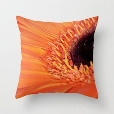 Its bloomin' orange Throw Pillow