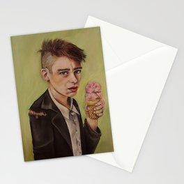 Ice Cream Boy Stationery Cards