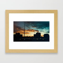 Carrefour Laval at Dusk - II Framed Art Print