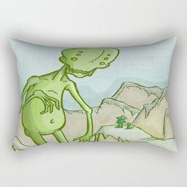 Big Ghoul Rectangular Pillow
