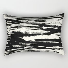 Brush Stripe 2 Rectangular Pillow