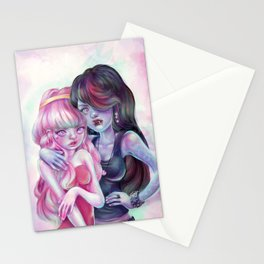 I'm gonna drink the red from your pretty pink face. Stationery Cards
