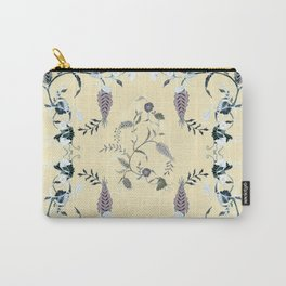 FLOWERS OF GOOD WEALTH Carry-All Pouch