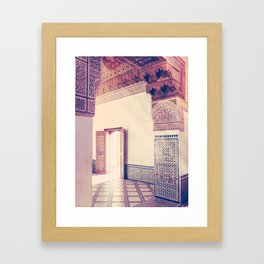 Light Streams in Marrakech Fine Art Print Framed Art Print