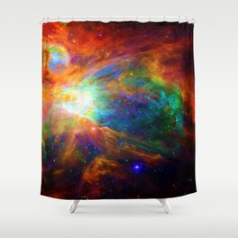Orion Chaos Shower Curtain