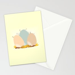 Cuckoo Eggs Stationery Cards