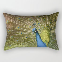 Peacock. Rectangular Pillow