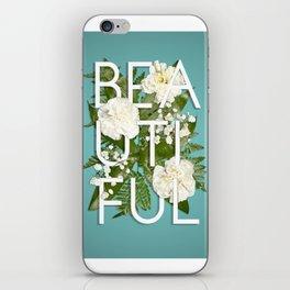 Beautiful Floral iPhone Skin