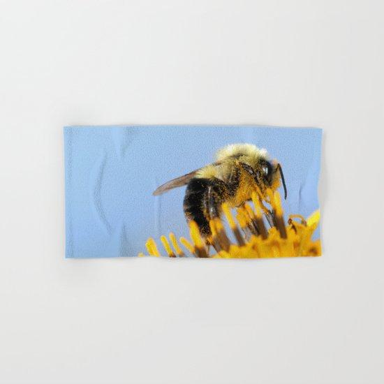 Sleepy Bee Hand & Bath Towel