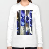 glass Long Sleeve T-shirts featuring Glass by Blue Lightning Creative