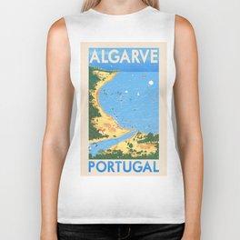 Travel Posters - Algarve Biker Tank