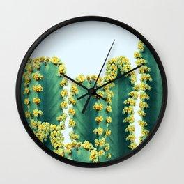 Adorned Cactus #society6 #artprints #buyart Wall Clock