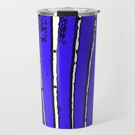 Blue Seaweed Travel Mug