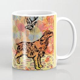 Hunting dog pop art Coffee Mug
