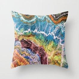 Sheer Fashion - Emerald II Throw Pillow