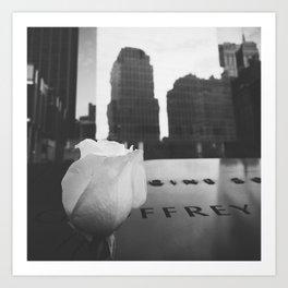 9/11 Memorial  Art Print