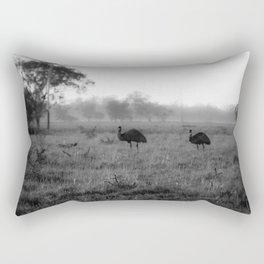 Devil Birds Rectangular Pillow