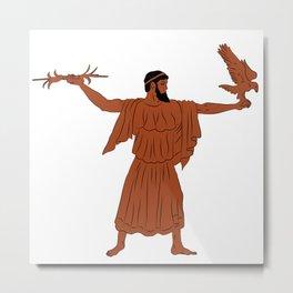 Zeus Metal Print