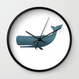 Whale art Wall Clock
