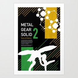 Metal Gear Solid 2: Sons of Liberty Art Print