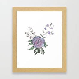 Fleur Charm Framed Art Print