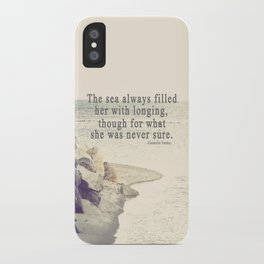 Filled with Longing iPhone Case
