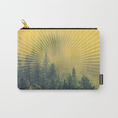 Golden Rays Forest #society6 Carry-All Pouch