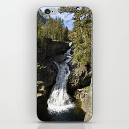 Waterfall - Crazy Mountains, Montana iPhone Skin