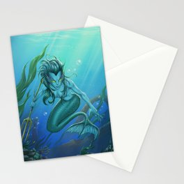 Mermaid's Realm Stationery Cards