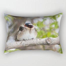 A well deserved break Rectangular Pillow