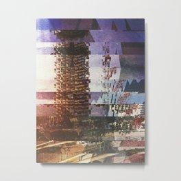 [03.01.17] Wreck n' Effects Metal Print