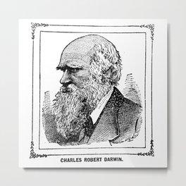 Charles Robert Darwin Metal Print